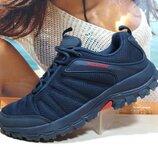 Термо кроссовки -Yike Waterproof синие 41р-46р