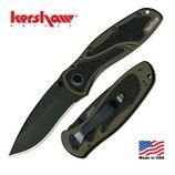 Складной нож от компании Kershaw. Модель Blur Olive Black 1670OLBLK . Оригинал