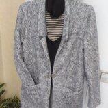 Кардиганчик-Пальтечко прямого силуету на теплу весну-осінь