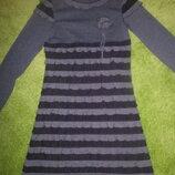 Нарядное платье фиолетовое 7-9 лет