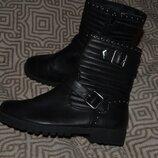 демисезонные ботинки 23.5 см 37 размер Matalan Англия