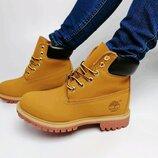 Женские зимние ботинки timberland classic