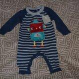 новый костюм человечек новорожденному TU рост 56