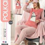 Пижама теплая четырнадцать расцветок