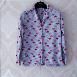 Размер S Яркая фирменная флисовая пижамная домашняя кофта