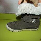 сапоги ботинки Converse деми 32 р 19,5 см бу обмен