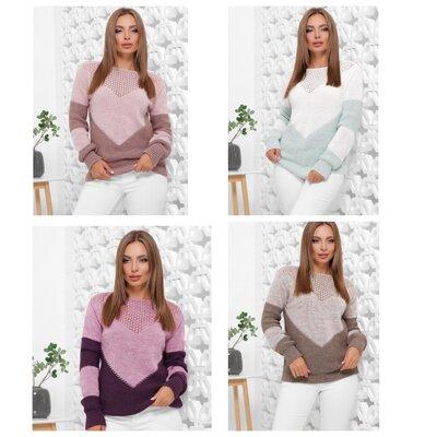 Хит сезона Нежнейший свитер - 6 расцветок 46-52///отправка сразу