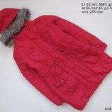 11-12 лет. M&S. Куртка пальто демисезон