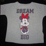 футболка Disney 3-4 года отл..состояниие