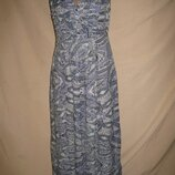 Длинное вискозное платье Monsoon р-р10