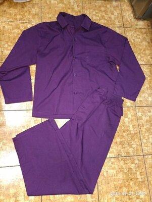 Красивый брендовый костюм-брюки и пиджак Фирма GEORGE Размер М Унисекс