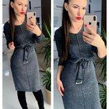Платье вязаное с Борисом,4 цвета