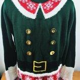 Новогодний свитер. Эльфийский свитер.