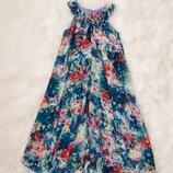 Платье стильное удлиненное Next 8-10 лет. Легкое шифоновое платье для девочки