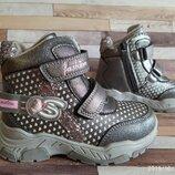 Демисезонные ботинки для девочки 28-31р