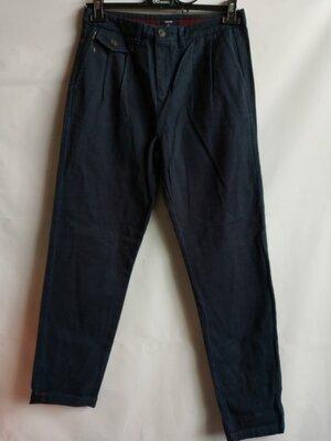 Брендовые плотные брюки парусина хлопок Kiabi, 40 оригинал Франция Европа