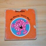 Mr. messy, детская книга на английском языке