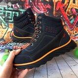 Высокие зимние ботинки для мальчика, код 795