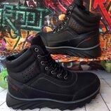 Высокие зимние ботинки для мальчика, код 796