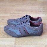Кожаные кроссовки Geox оригинал 42 размера в идеальном состоянии