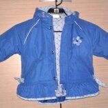 Яркая курточка для девочки Milou р. 80 на 1-2 года
