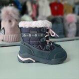 Зимние ботиночки Lupilu на девочку 23 размер