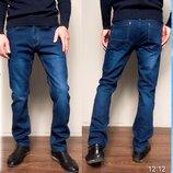 Стрейчевые джинсы на флисе Siheren,размер 33-42.