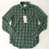 рубашка фланель Pull&Bear с