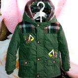 Деми куртка M&Co,рост 98 см 2-3 года .
