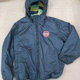 6-8 л.Продам новую,фирменную Zebralino,двустороннюю куртку.