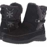 Сапоги черные кожаные зимние оригинал Сша RP 149dol. Jambu 38 38.5 39