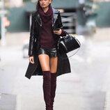 Toxik3 Великобритания/кожаные шорты женские стильные с цепочками на карманах