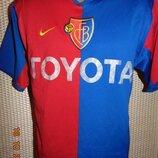 Спортивная фирменная футбольная футболка Nike Найк ф.к Базель .xs-s