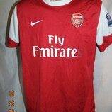 Спортивная фирменная футбольная футболка Nike ф.к Арсенал .м-л .