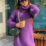 Вязаное платье Норели