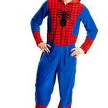 Человек Паук Спайдермен 42-44 Кигуруми слип пижама человечек