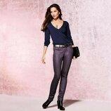 Классные зауженые легкие джинсы с напылением slim fit TCM Tchibo. 36р евро