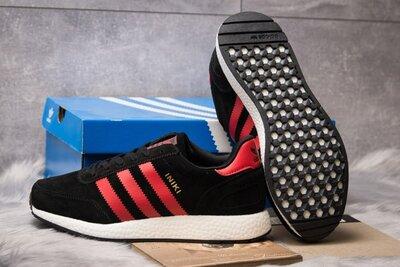 Кроссовки Adidas Iniki, 41,42,43,44,45,46 размер, замша натуральная, качество