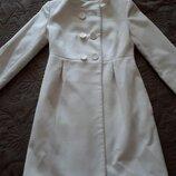 Легкое кашемировое пальто р С