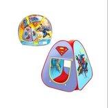 Палатка 889-33A Superman. Ігрова палатка. Дитяча палатка. Палатка для дітей. Детская палатка.