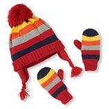 Набор шапочка и рукавички Children s Place размер м 2T/3T