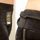 Лосины штаны велюровые женские на меху с полосой