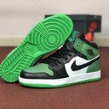 Кроссовки мужские Nike Air Jordan 1 Retro зеленый 8575