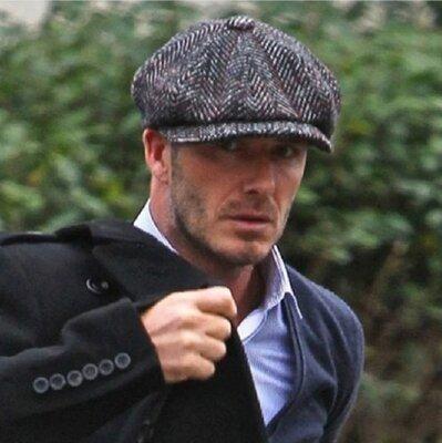 Крутая Кепка стиль David Beckham Кашемир 2 цвета