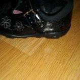 Лаковые мегающие туфли clarcs 4