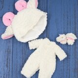 Комплект набор одежды Барашка для куклы Блайз Пуллип, Айси. Одежда Blythe ICY pullip овечка