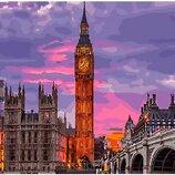 Картина по номерам. Brushme Лондон на закате GX29764. Брашми.
