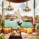Картина по номерам. Brushme Окно в Венецию GX30155. Брашми.