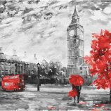 Картина по номерам. Brushme Осень в Лондоне GX22029. Брашми.