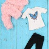 набор одежды для куклы Блайз Пуллип, Айси. Одежда Blythe ICY pullip с манто футболкой и брюками